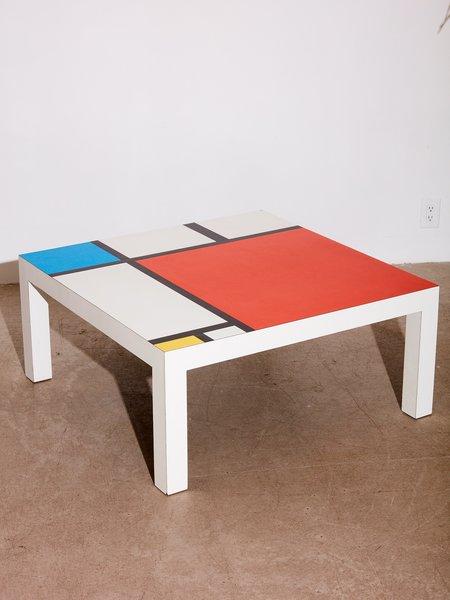 Coming Soon Mondrian Style Coffee Table