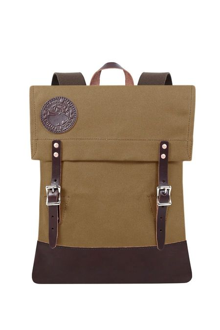 Duluth Pack Deluxe Scout Waxed Canvas