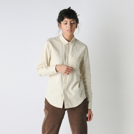 Older Brother Oxford Classic Shirt in Khaki Cafe