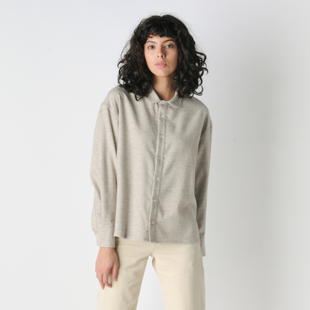 Older Brother Yak Anti Fit Shirt in Oatmeal