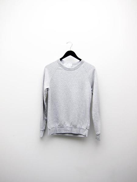 Unisex Audrey Louise Reynolds Organic Eco-Fleece Sweatshirt - Heathered Grey