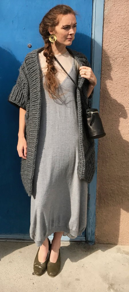Baserange Homoki Dress – Merinos Jersey