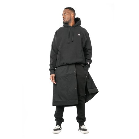 Champion Fleece Pullover C Logo Hood - Black