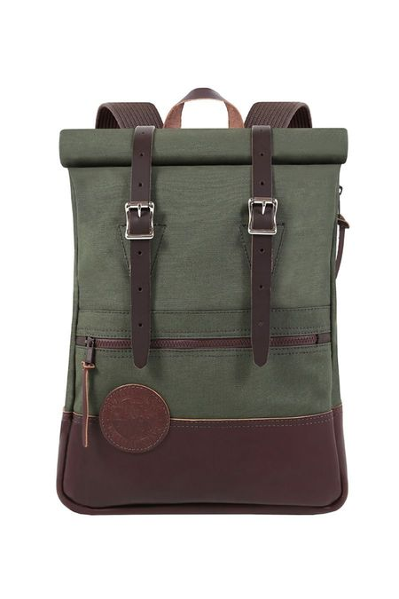 Duluth Pack Deluxe Roll Top Scout - Olive