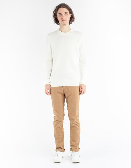 No Nationality Duncan Stripe Sweater - Off White Stripe