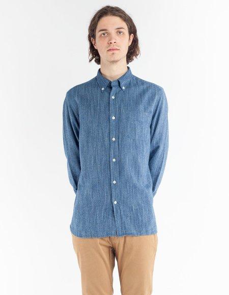 Woolrich Indigo Flannel Shirt - Indigo