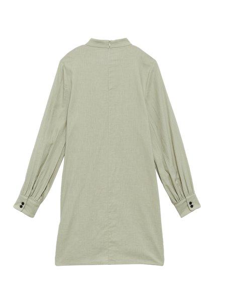 IGWT Valerie Dress - Sage Washed Cotton