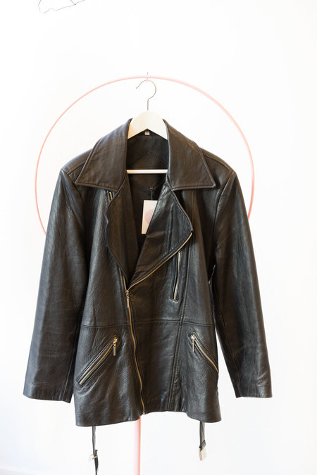 BACKTALK VINTAGE Long Tail Moto Jacket