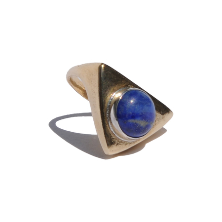 PAIGE CHEYNE LAPIS SOURCE RING