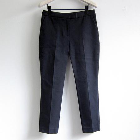 Harvey Faircloth Flat-front Twill Pant - Black