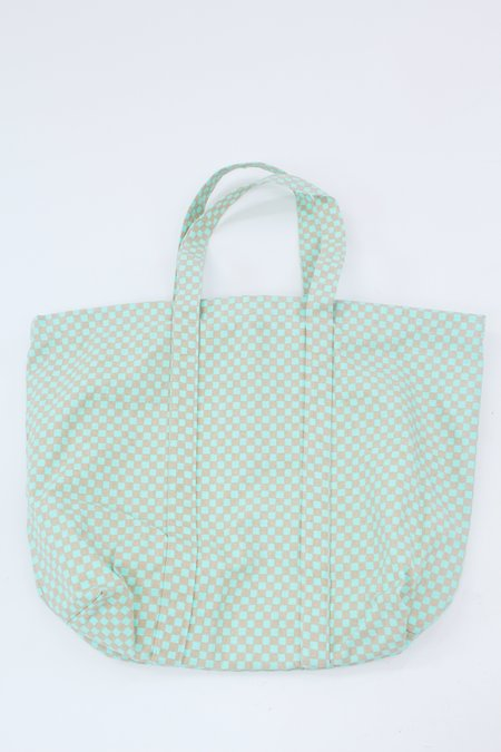 Beklina Lina Rennell Canvas Tote Bag - Checkerboard