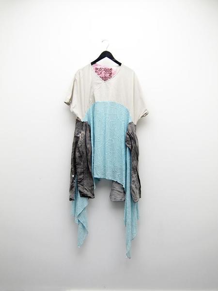 Femail Oat and Seafoam Boro Dress