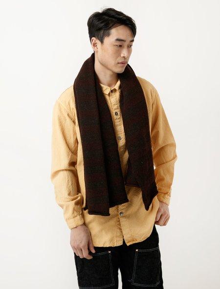 Tender Voe Stripe Scarf - Brown