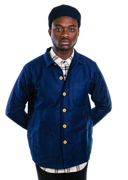 3sixteen Shop Jacket - Indigo Moleskin