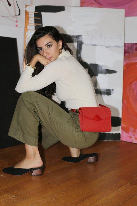 Lacausa Uniform Trouser in Basil
