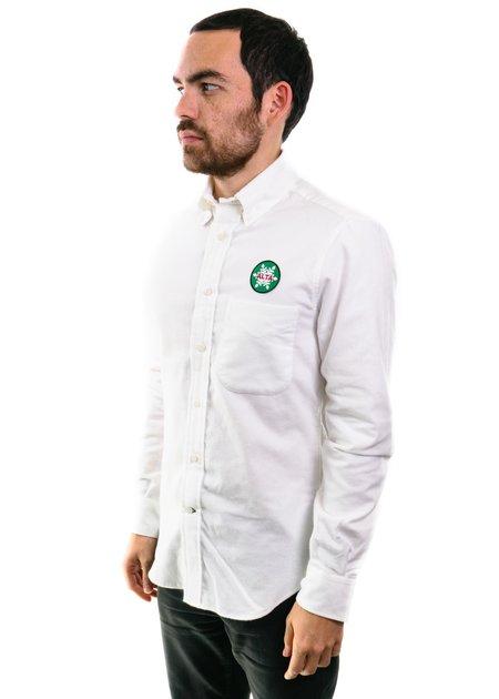 Gitman Vintage Flannel Shirt in White (Alta)