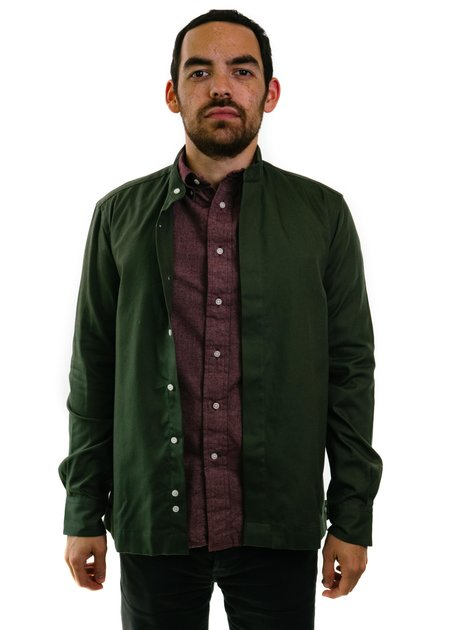 Gitman Vintage Waterproof Oxford Jacket - Olive