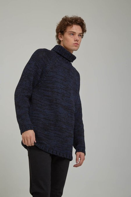 Nudie Hans Indigo Turtleneck