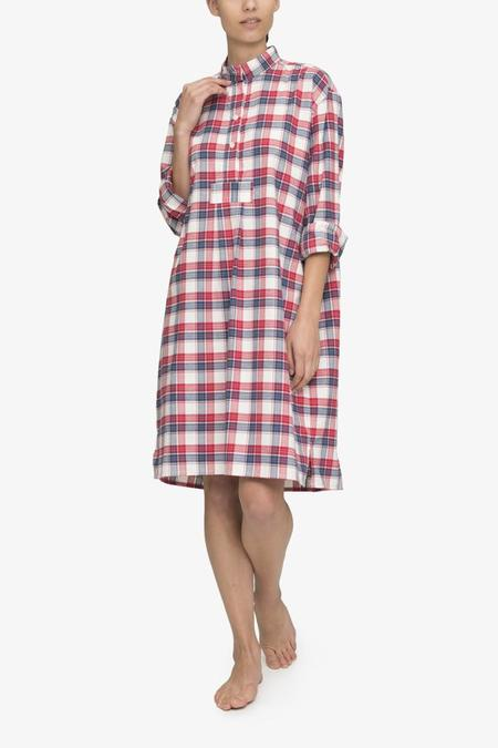 The Sleep Shirt Long Sleep Shirt Berry Plaid