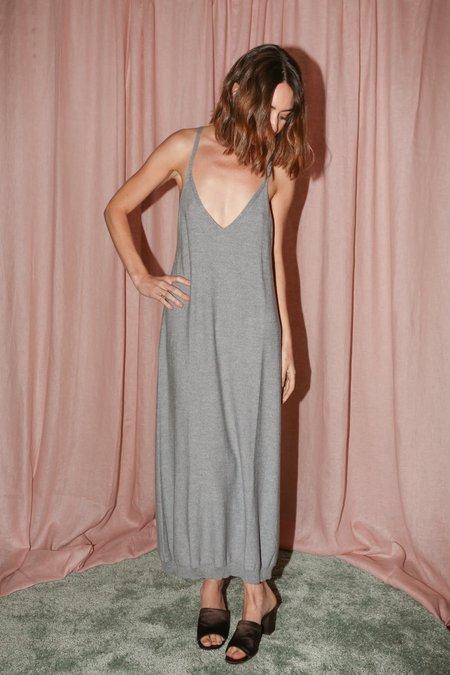 Baserange Homoki Dress in Grey Melange