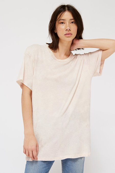 Lacausa Tall Tee in Blush