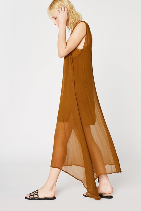 Lacausa Clothing Firefly Dress in Bronze