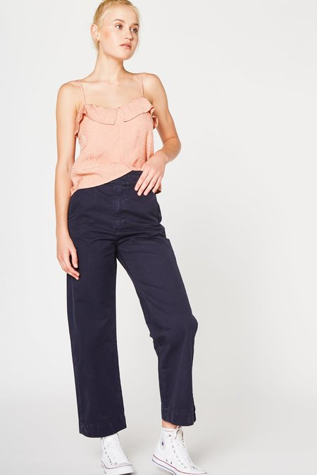 Lacausa Uniform Trouser in Midnight