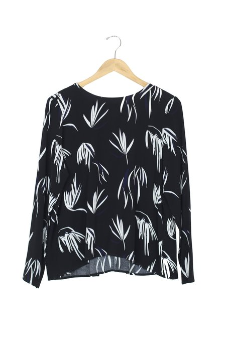 Just Female Maise Blouse - Fern Black