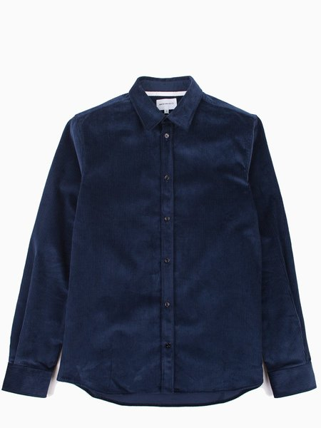 Norse Projects Hans Cord Petrol Blue