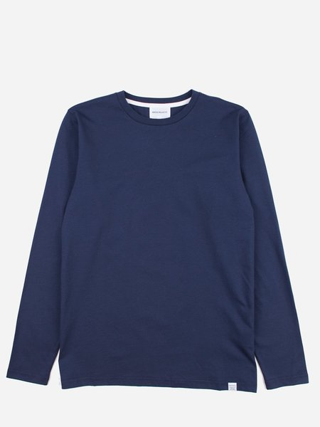 Norse Projects Niels Standard LS Navy
