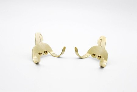 Kaye Blegvad Female Support System Wall Hooks