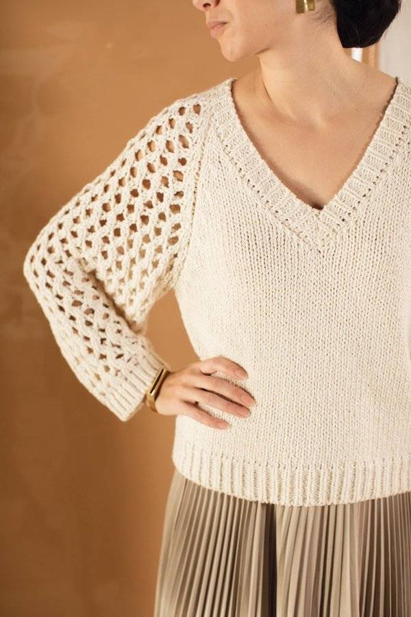 Caron Callahan Elisa Sweater - Cotton