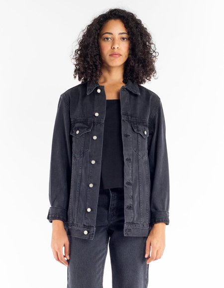 Assembly Label Ledger Jacket - Age Old Black