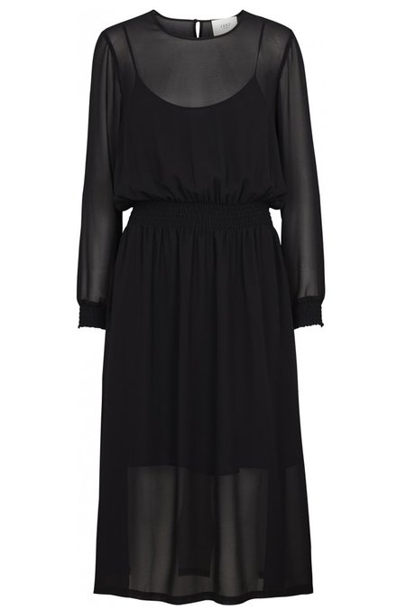 Just Female Moe Maxi Dress - Black