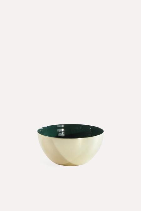 Hawkins New York Louise Brass Bowl Small in Pine