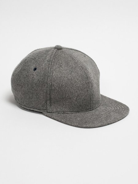 Nanamica Wool Cap - Heather Gray