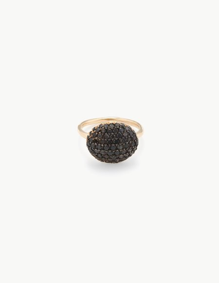 Kathryn Bentley Black Diamond River Rock Ring