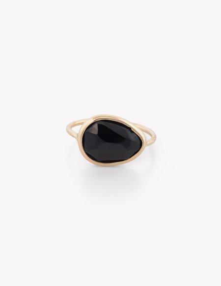 Kathryn Bentley Black Onyx Slice Ring