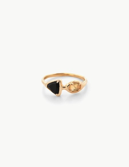 Kathryn Bentley Ellipse Cluster Ring