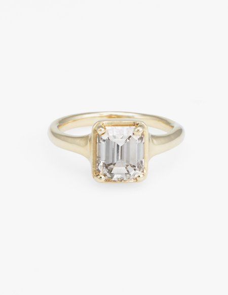 Kathryn Bentley Emerald Cut Diamond Ring