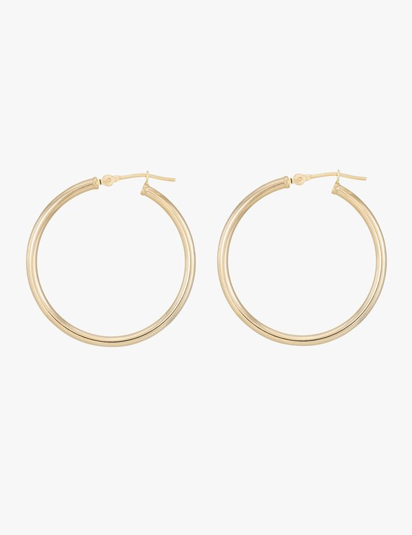 Kathryn Bentley Large Classic Gold Hoops