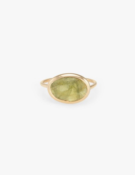 Kathryn Bentley Peridot Slice Ring