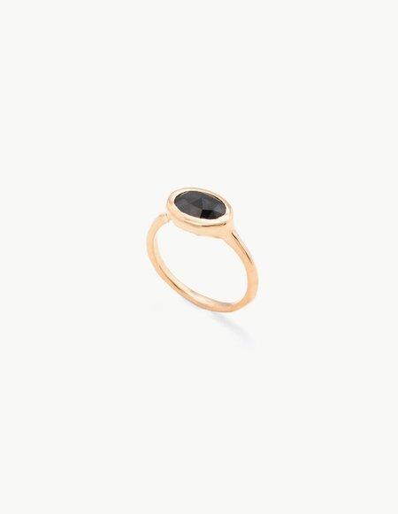 Kathryn Bentley Rose Cut Black Diamond Ring