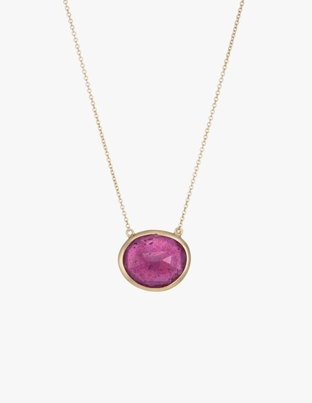 Kathryn Bentley Ruby Slice Necklace
