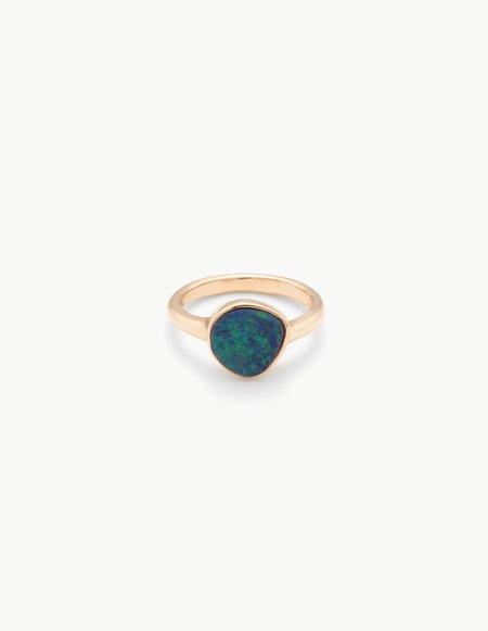 Kathryn Bentley Small Opal Organic Amulet Ring