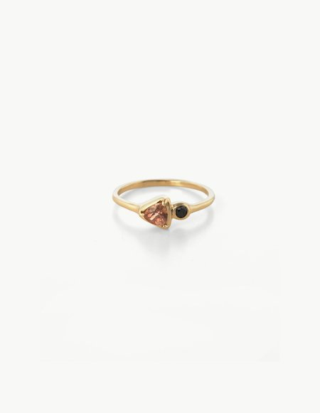 Kathryn Bentley Tiny Double Cluster Ring