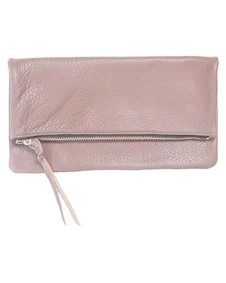 Oliveve Anastasia In Rosy Pebbled Cow Leather