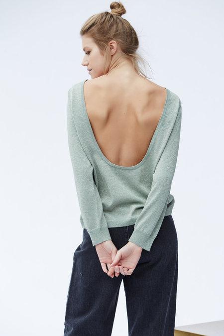 Callahan Sparkle U Back Sweater