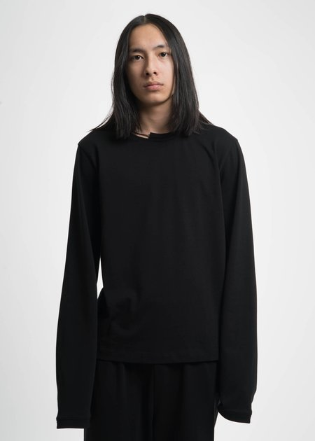 Helmut Lang Black Necklace Crewneck