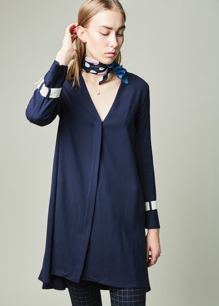 Margaux Lonnberg Madeleine V-Neck Dress